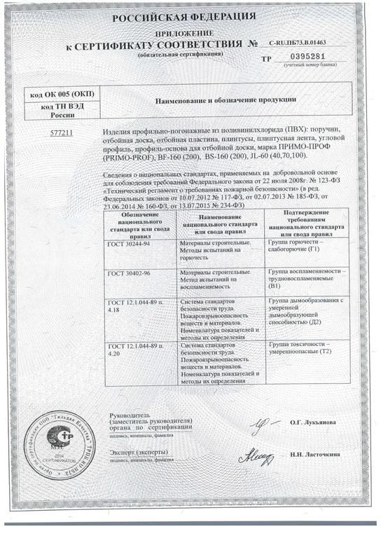 сертификат КМ1